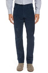 Zachary Prell Men's Redonda Stretch Corduroy Trousers Midnight
