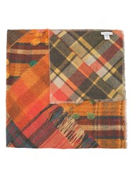 Pierre Louis Mascia Checked Scarf Multicolour