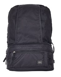 Porter Yoshida And Co. Trip 2Way Waist Bag Black