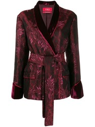 F.R.S For Restless Sleepers Jacquard Pattern Blazer 60