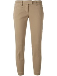 Dondup 'Aslan' Trousers Nude And Neutrals