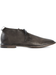 Alberto Fasciani Lace Up Boots Grey