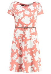 Taifun Summer Dress Flamingo Coral
