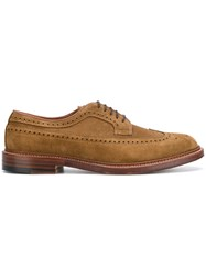 Alden Classic Lace Up Shoes Brown