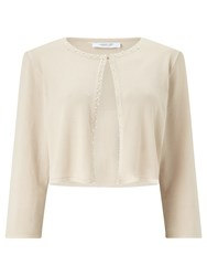 Jacques Vert Petite Embellished Knit Cover Up Neutral