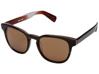 Paul Smith Hadrian Sun Olive Tortoise Rust Persimmon Fashion Sunglasses Brown
