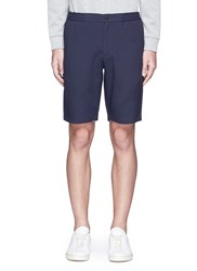 Theory 'Plymouth Nc S' Bermuda Shorts Blue