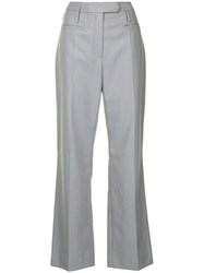 Nehera High Waist Business Trousers Grey