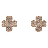 Latelita London Lucky Four Leaf Clover Earring Rose Gold