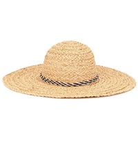 Hat Attack Raffia Hat Neutrals
