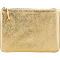 Large Zip Pouch Gold