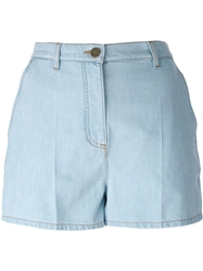 Valentino High Waisted Denim Shorts