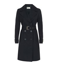 Michael Michael Kors Fit And Flare Trench Coat Female Black