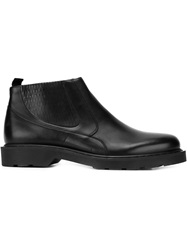 Alexander Mcqueen Slip On Boots Black