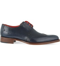 Jeffery West Bay Derby Brogues Navy