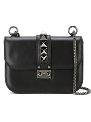 Valentino Garavani 'Glam Lock' Shoulder Bag Black