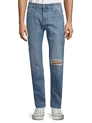 Dl1961 Distressed Cotton Jeans Wreck