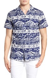 Kahala Safe Harbor Slim Fit Camp Shirt 415