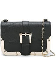Red Valentino Chain Strap Cross Body Bag Black