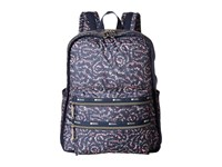 Le Sport Sac Functional Backpack Fairy Floral Blue Backpack Bags Black
