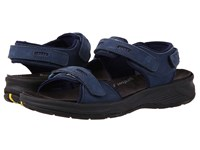 Drew Shoe Cascade Navy Nubuck Women's Sandals Blue