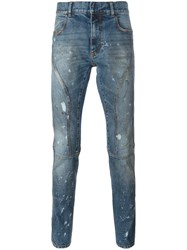 Faith Connexion Bleached Jeans Blue