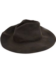 Horisaki Design And Handel Wide Brim Hat Grey