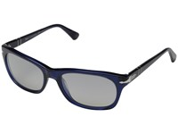 Persol 0Po3099s Blue Gradient Polarized Grey Fashion Sunglasses Black