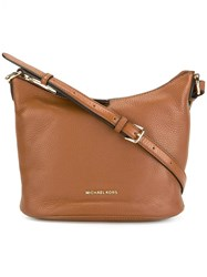 Michael Michael Kors 'Lupita' Crossbody Bag Brown