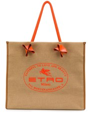 Etro Faithful To Love And Beauty Tote 60
