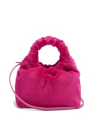 The Row Double Circle Small Mink Bag Pink