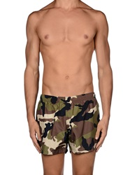 Dondup Swimming Trunks Military Green
