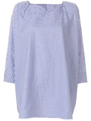 Daniela Gregis Striped Tunic Blue