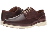 Dockers Parkway Plain Toe Oxford Red Brown Waxy Distressed Burnished Full Grain Shoes