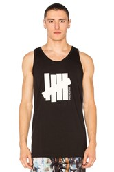Undefeated 5 Strike Tank Black And White