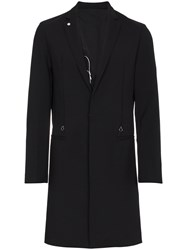 Alyx Tech Single Breasted Coat Black