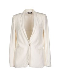 Jo No Fui Suits And Jackets Blazers Women Ivory