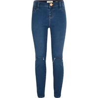River Island Girls Dark Wash Molly Jeggings