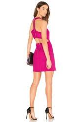 Bobi Black Bodycon Dress Red