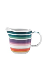 Missoni By Richard Ginori 1735 Zig Zag Collection Porcelain Creamer