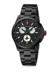 Gucci Chronograph Bracelet Watch Black