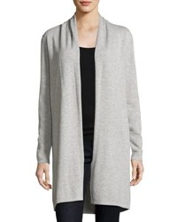Biana Raquel Long Cardigan Light Gray