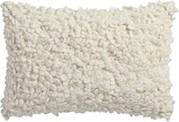 Cb2 Toodle 18''X12'' Pillow With Down Alternative Insert