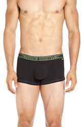 Andrew Christian Men's 'Show It' Tagless Boxer Briefs Black