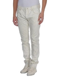 0051 Insight Denim Pants Ivory