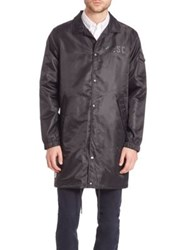 Wesc Long Coaches Jacket Black