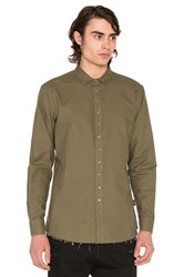 Publish Xander Button Down Olive