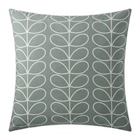 Orla Kiely Small Linear Stem Cushion 50X50cm Duck Egg