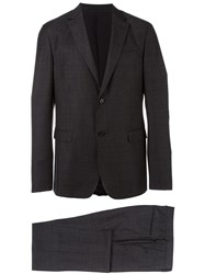 Z Zegna Two Button Blazer Grey