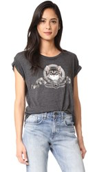 Wildfox Couture Silver Screen Kitten Tee Clean Black